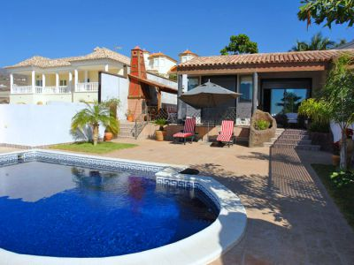 Villa Teneriffa mit Pool in Playa Paraiso