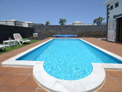 Villa mit Pool in Playa Blanca L-018 - Poolansicht